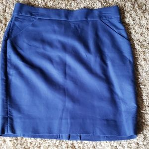 WORN ONCE! J. Crew Pointe Pencil Skirt